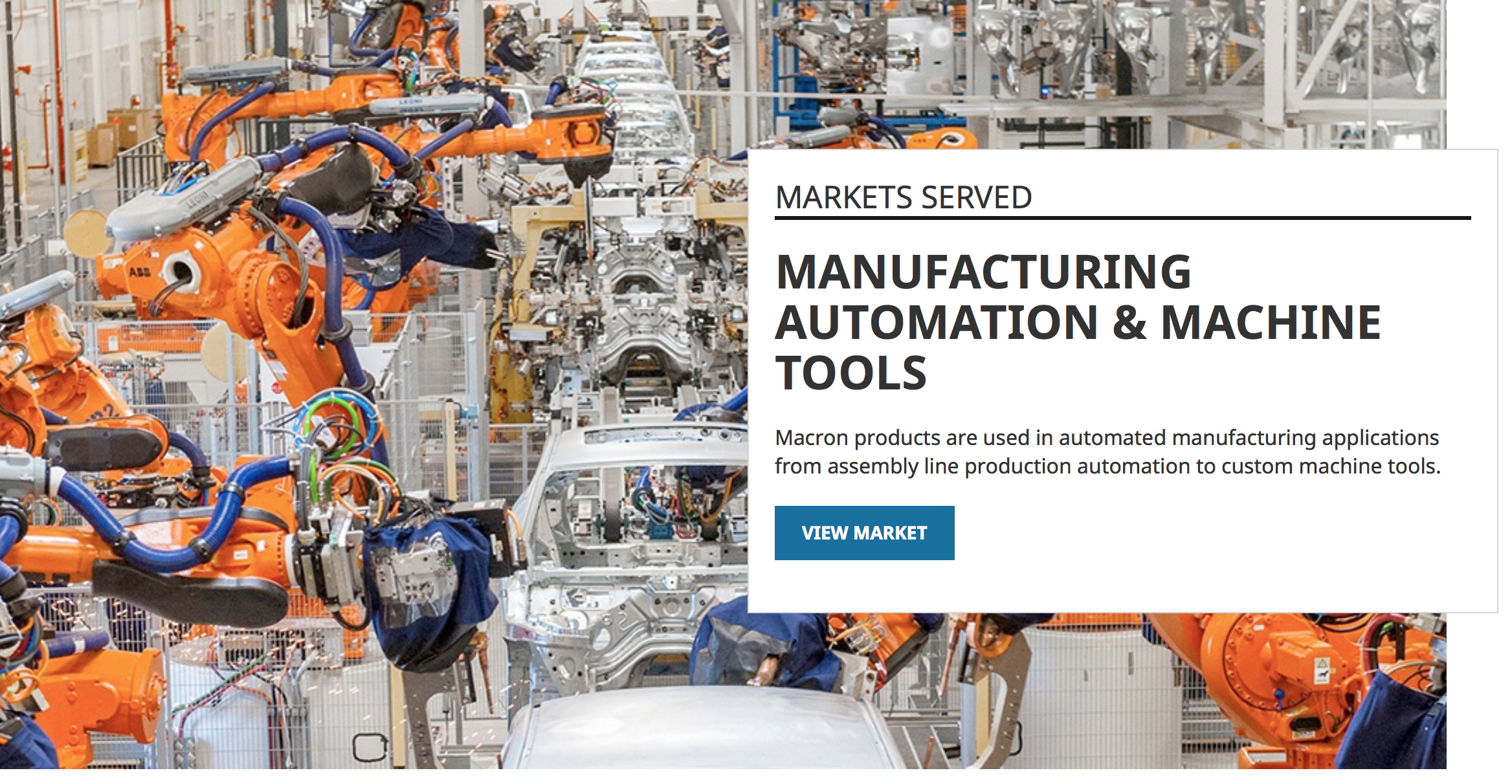 Macron Manufacturing Automation & Machine Tools