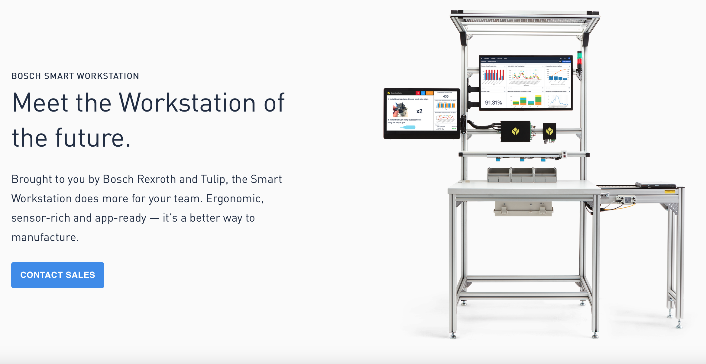 The Smart Station from Bosch and Tulip