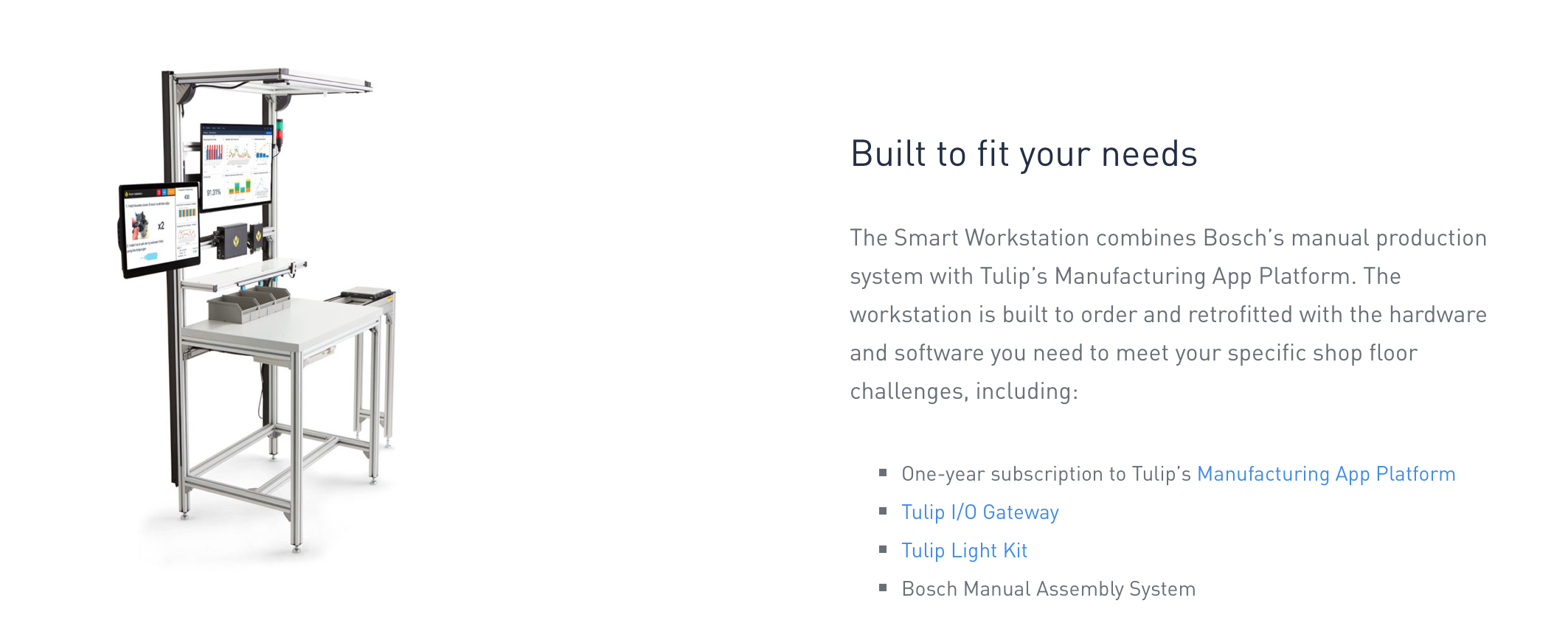 Smart Workstation - Custom Solutions