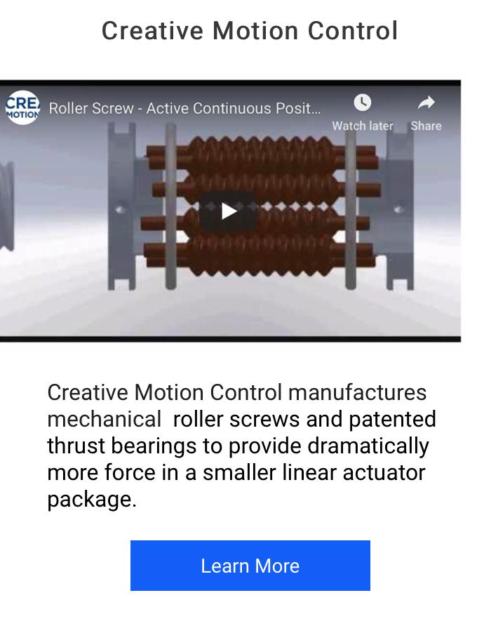 Futura and Creative Motion Control