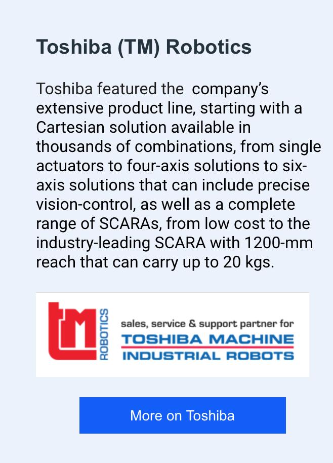 Futura and Toshiba Robotics