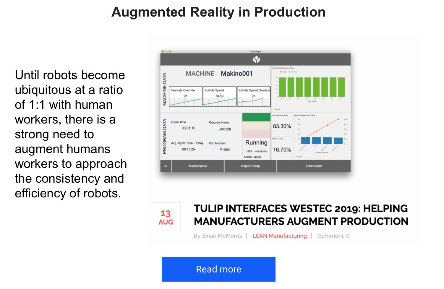 Futura Automation Augmented Reality