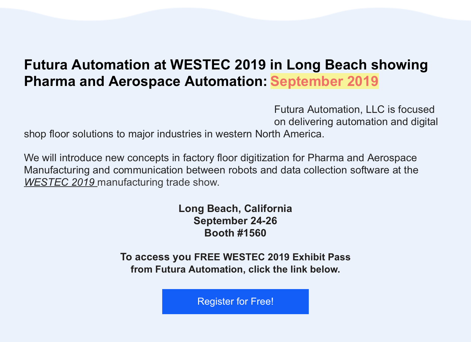 WESTECT 2019