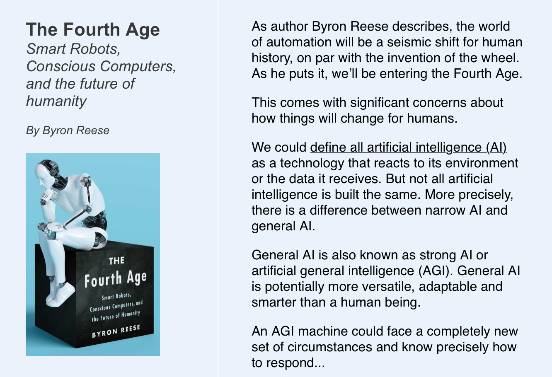 Byron Reese Author