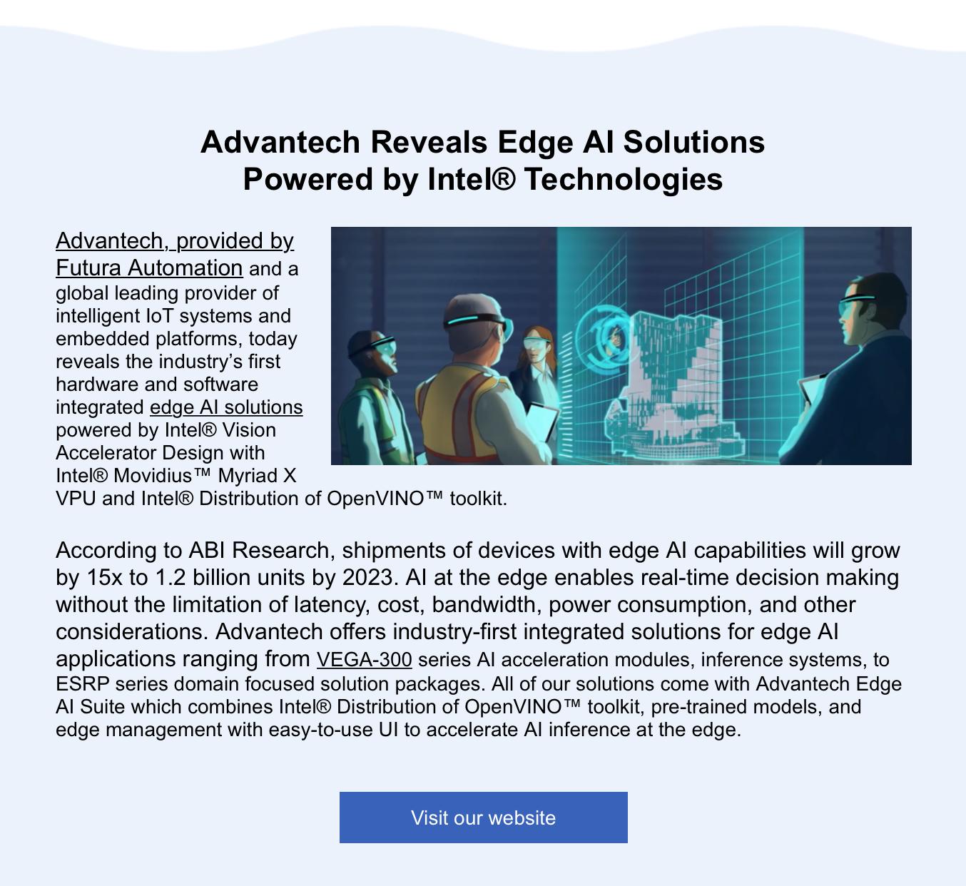 Advantech and Edge Ai